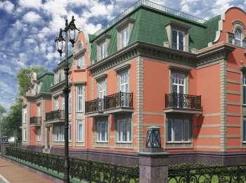 Общий вид клубного дома DelАrte
